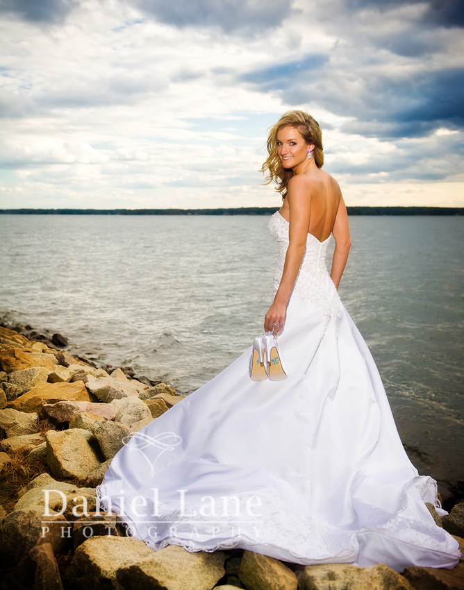 Allison's Lake Murray Bridal shoot.